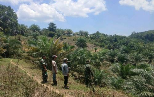 Di Tengah Pandemi Corona, Pencegahan Karhutla Tetap Dilakukan di Desa Kumain