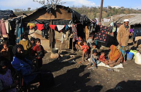 Berdesakan di Pengungsian, 40 Ribu Muslim Rohingya di India Terancam Mati Terinfeksi Corona dan Kelaparan