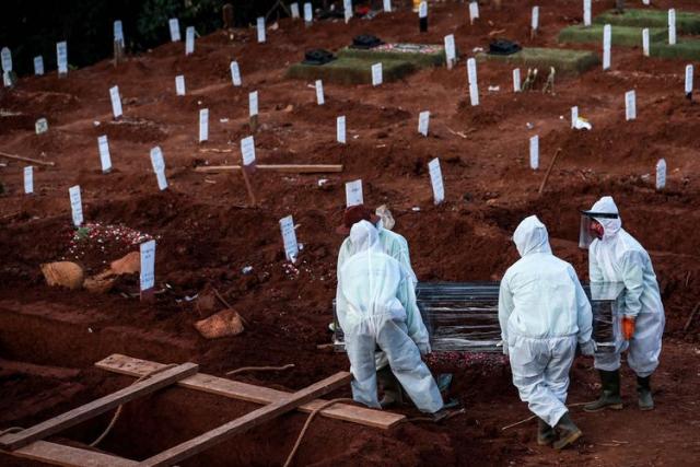 Virus Corona Sudah Renggut 41.054 Jiwa di Tanah Air