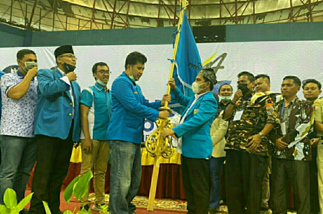 Terpilih Secara Aklamasi, Nasarudin si Boedak Kampoeng Pimpin KNPI Riau