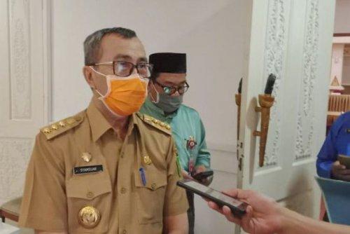 Hari Ini Bertambah 1 Kasus Positif dan 5 Sembuh, Gubernur Riau Klaim Penyebaran Covid-19 Dapat Ditekan