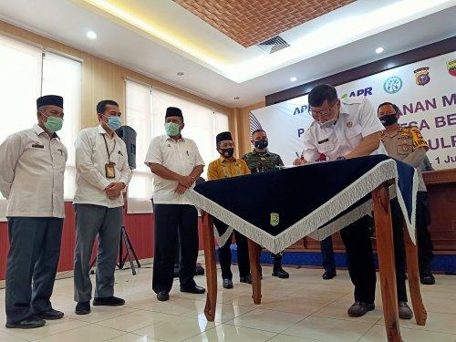 Program Desa Bebas Api dari PT. RAPP Terbukti Mampu Menekan Karlahut di Riau
