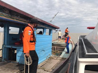 Tarik Bubu, Seorang Nelayan di Rohil Terpeleset dan Tenggelam di Sungai Nipah