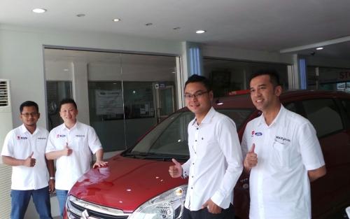 Buka di Jalan Riau, Dealer Suzuki Mobil PT EGO Bisa Layani Pelanggan Ford