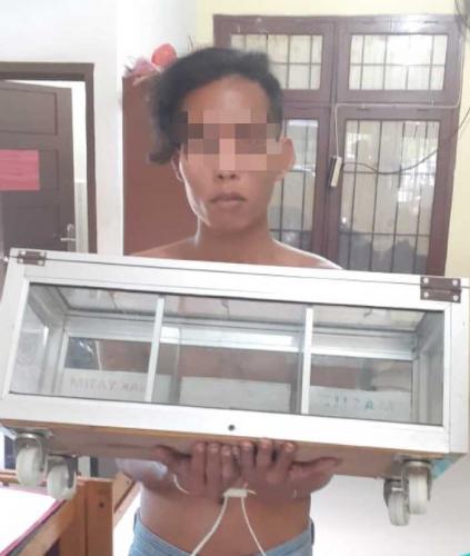 Pencuri Kotak Infaq Masjid di Kampar Diringkus Polisi Setelah Sempat Melarikan Diri Selama Dua Minggu