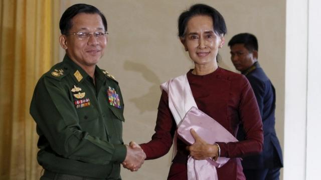 Min Aung Hlaing, Jenderal Pembantai Muslim Rohingya yang Kudeta Aung San Suu Kyi