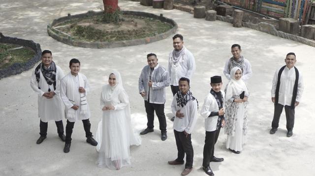 Sambut Ramadhan dengan Kreatif, Anak-anak Muda Asal Riau Ini Hadirkan Video Musik Medley Shalawat