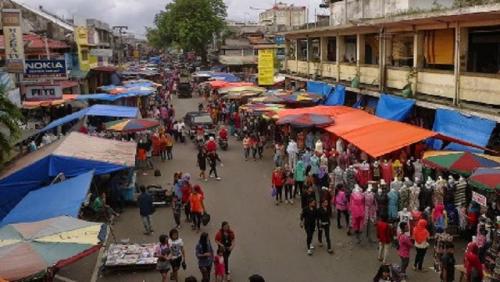 36 Pedagang Pasar Raya Padang Positif Covid-19, Kontak dengan 1.000 Orang