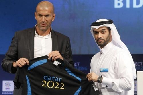 Zidane Dikabarkan Dikontrak Latih Timnas Qatar, Digaji Rp2 Miliar Per Hari