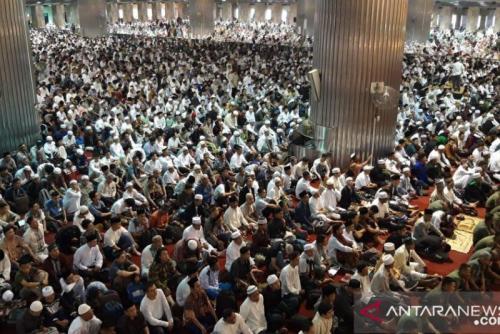 DMI: Kapasitas Masjid Hanya Boleh 40 Persen Saat New Normal