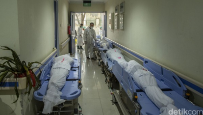 Banyak Pasien Covid-19 Wafat Mendadak di IGD, Ini Penyebabnya Kata Menkes