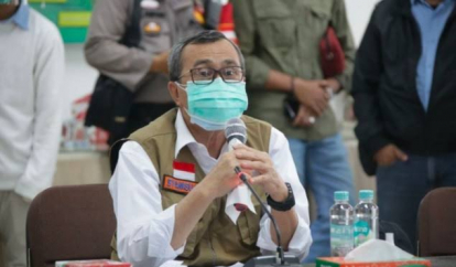 Rumah Oksigen Gotong Royong Dibangun di Kawasan Lanud Roesmin Nurjadin Pekanbaru, Gubri: Semoga Dapat Memudahkan Penanganan Pasien Covid-19