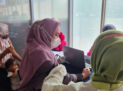 Karmila Sari: Warga Rokan Hilir Mulai Paham Pentingnya Vaksinasi