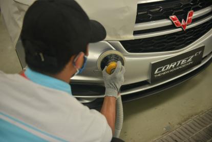 Tambah Kemudahan Layanan Purnajual di Pekanbaru, Wuling Gandeng Tekno Body Repair