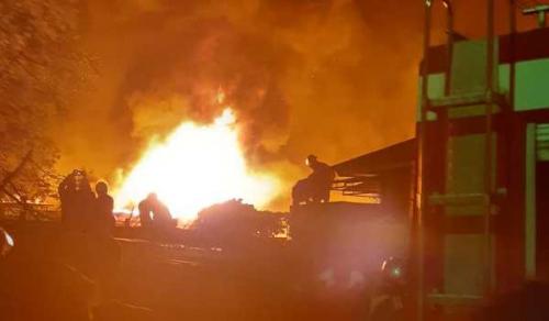 40 Rumah Terbakar di Medan, Ratusan Jiwa Kehilangan Tempat Tinggal