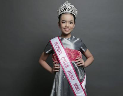 Ditetapkan Sebagai Puteri Cilik Riau 2021, Ini Deretan Prestasi Darlene Gwendolyn Hope Rovelin Saragih