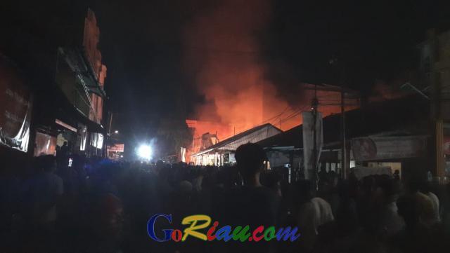 Malam Ini, Tiga Rumah di Bagansiapiapi Dilalap Si Jago Merah