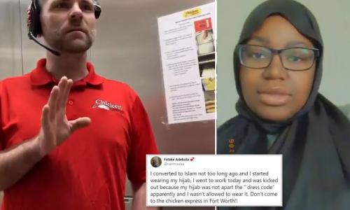 Gunakan Jilbab, Pegawai Rumah Makan Cepat Saji Disuruh Bosnya Pulang