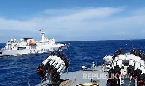 TNI AL Usir Kapal China di Perairan Natuna