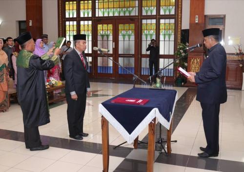 Tengku Said Hamzah Pensiun, Bupati Lantik Jamaluddin Sebagai Penjabat Sekda Siak