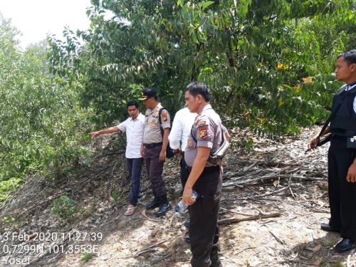 BBKSDA Riau Benarkan Jejak Kaki Harimau di Sekitar Bangkai Anak Sapi Warga Minas