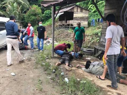 Rampok Bersenjata Api di Pelalawan Riau Ditembak dan Dibekuk Polisi di Sijunjung