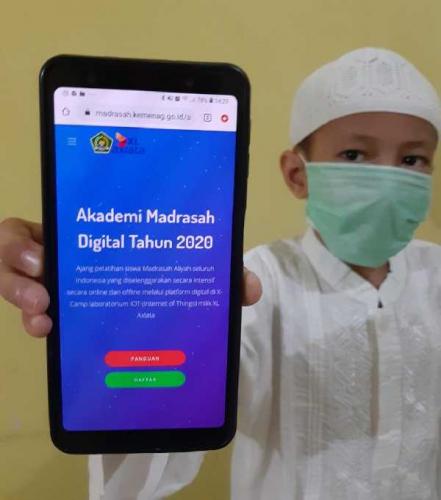 XL Axiata - Kemenag Luncurkan Akademi Madrasah Digital 2020