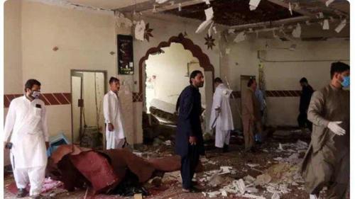 Bom Meledak dalam Masjid Saat Jamaah Bersiap Shalat Isya, Ulama Terkemuka Jadi Korban