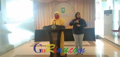 Kadiskes Riau: Hasil Rapid Test Sekdakab Kuansing Nonreaktif
