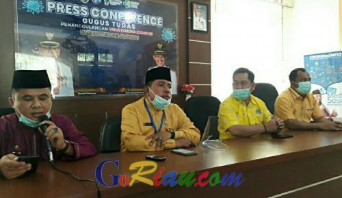 Hasil Tracing, 12 Orang Terkonfirmasi Kontak Erat dengan MR Pasien Positif Covid-19 Pelalawan