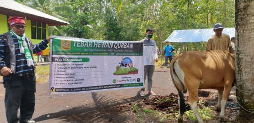 Yayasan Fitrah Madani Meranti Prioritaskan Hewan Kurban untuk Mualaf di Pedalaman