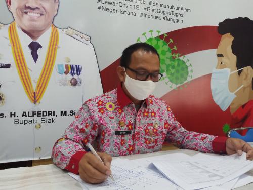 Kasus Positif Covid-19 di Kabupaten Siak Bertambah Lagi, Total Mencapai 69 Orang