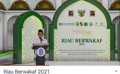 Gerakan Riau Berwakaf 2021, Total Wakaf yang Dikumpulkan BI Capai Rp212,86 Miliar dari 4.487 Wakif