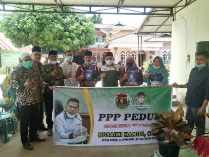 Buktikan PPP Tak Hadir Saat Mau Pemilu Saja, Husaimi Hamidi Taja PPP Peduli