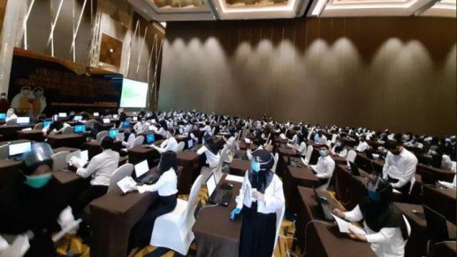6.070 Pelamar Dinyatakan Lulus Administrasi Bersaing Perebutkan 167 Formasi CPNS Dumai
