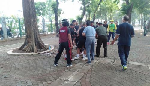 Ledakan Terjadi di Monas, 2 Prajurit TNI Jadi Korban