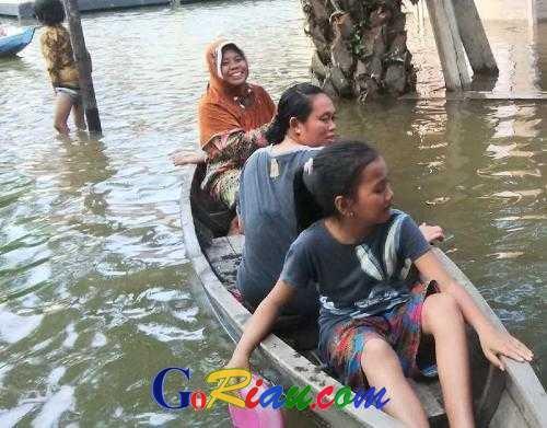 Ketua DPRD Riau Septina Minta Satker Saling Koordinasi Atasi Musibah Banjir