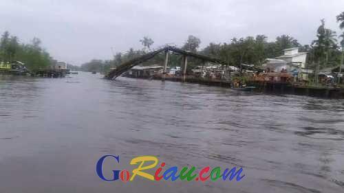 Wahid Mengaku Sudah Menelpon Gubernur, Jembatan Ambruk di Mandah Harus Segera Diperbaiki