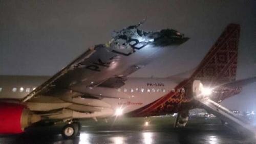 Breaking News: Pesawat Batik Air Tabrakan di Halim, 56 Penumpang dan Awak Pesawat Selamat