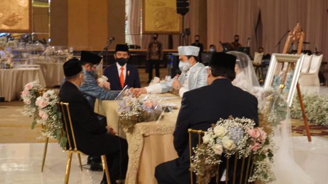 Tak Hanya Atta-Aurel, Presiden Jokowi Juga Jadi Saksi Nikah Putri Ketua Fraksi Golkar MPR RI