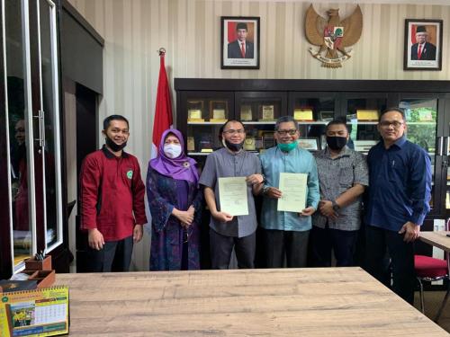 Berencana Dirikan Klinik di Kampus, Unilak Teken MoU dengan Yayasan Rumah Sakit Islam Riau