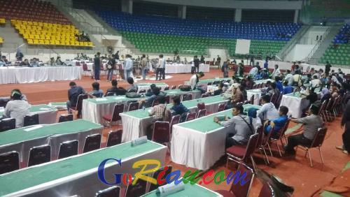 Kongres XXIX HMI Ricuh, Forum Sidang Berantakan