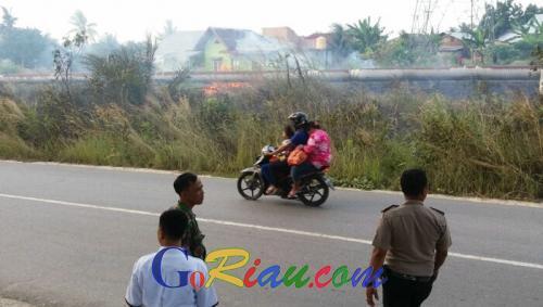 Kemarau Tiba Yellow Flag di Duri Naik
