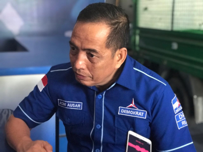KLB Demokrat, Demokrat Riau Kumpulkan Pengurus DPC di Kantor, Asri: Yang Nekat Ikut, Otomatis Dipecat