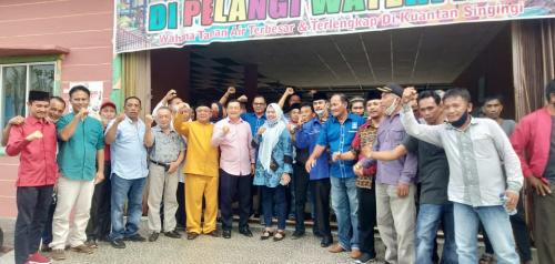 Ardi Nasri Ketua Tim Pemenangan Halim - Komperensi di Pilkada Kuansing 2020