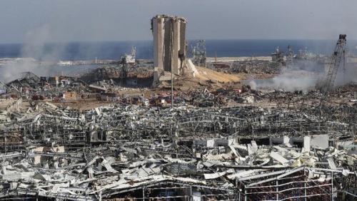 Akibat Ledakan Dahsyat di Beirut, 300 Ribu Orang Kehilangan Rumah