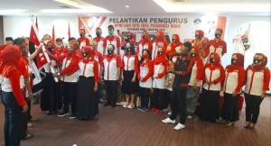 Presiden LSM LIRA Lantik Pengurus DPW dan DPD 5 Kabupaten/Kota Provinsi Riau