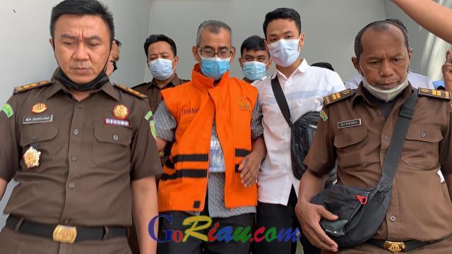 Breaking News, Kejati Jebloskan Mursini Mantan Bupati Kuansing ke Penjara
