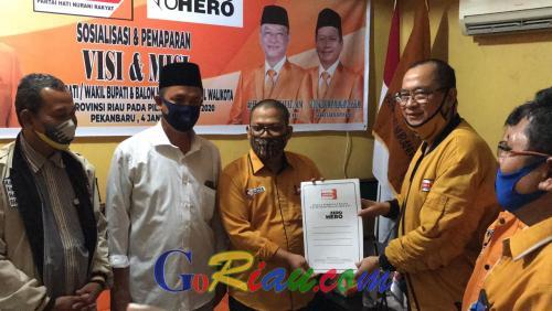 Sama-sama Berprestasi, Hanura-PKS Sepakat Usung Duo Ketua Partai Millenial di Pilkada Rohil, Daftar ke KPU Hari Minggu