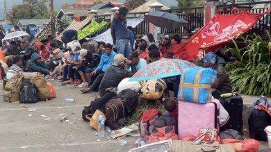 Sudah Lebih 10 Ribu Orang Gunakan Hercules Tinggalkan Wamena Pasca Kerusuhan